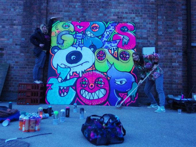 Girls On Top, Me & Chock, London, 2014