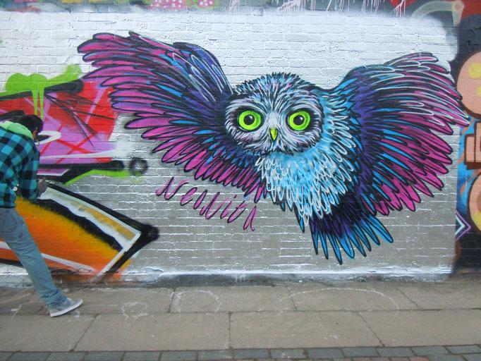 Owl, Hackney Wick, London, 2011