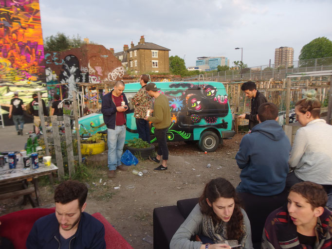 Meeting of Styles, Shoreditch, London, 2016