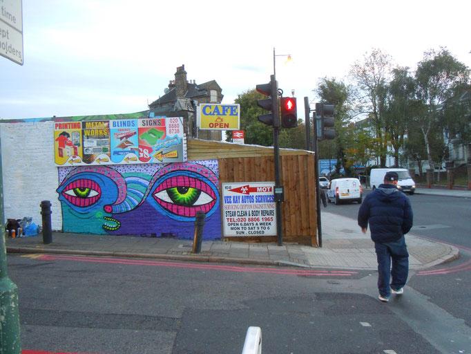 Stokey Monster, Stoke Newington, London, 2011