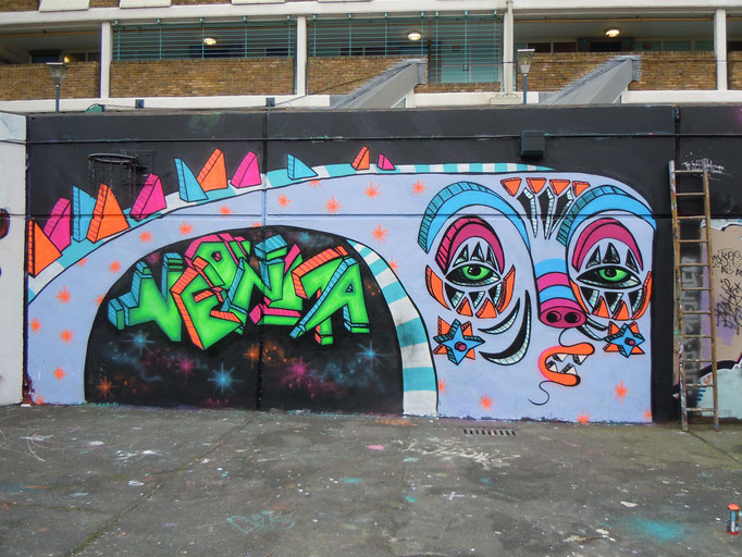 Spacey, Stockwell Park Estate, London, 2011