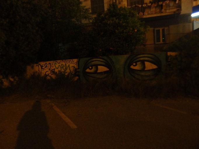 Night Monster, Athens, Greece, 2016