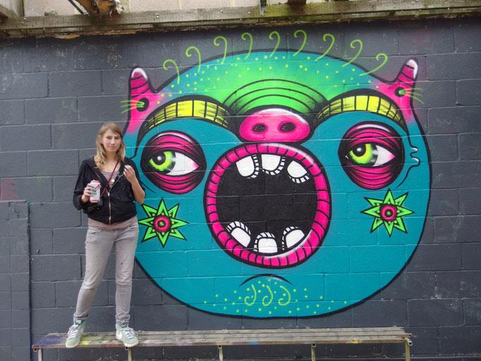O for Hannah, London, 2014