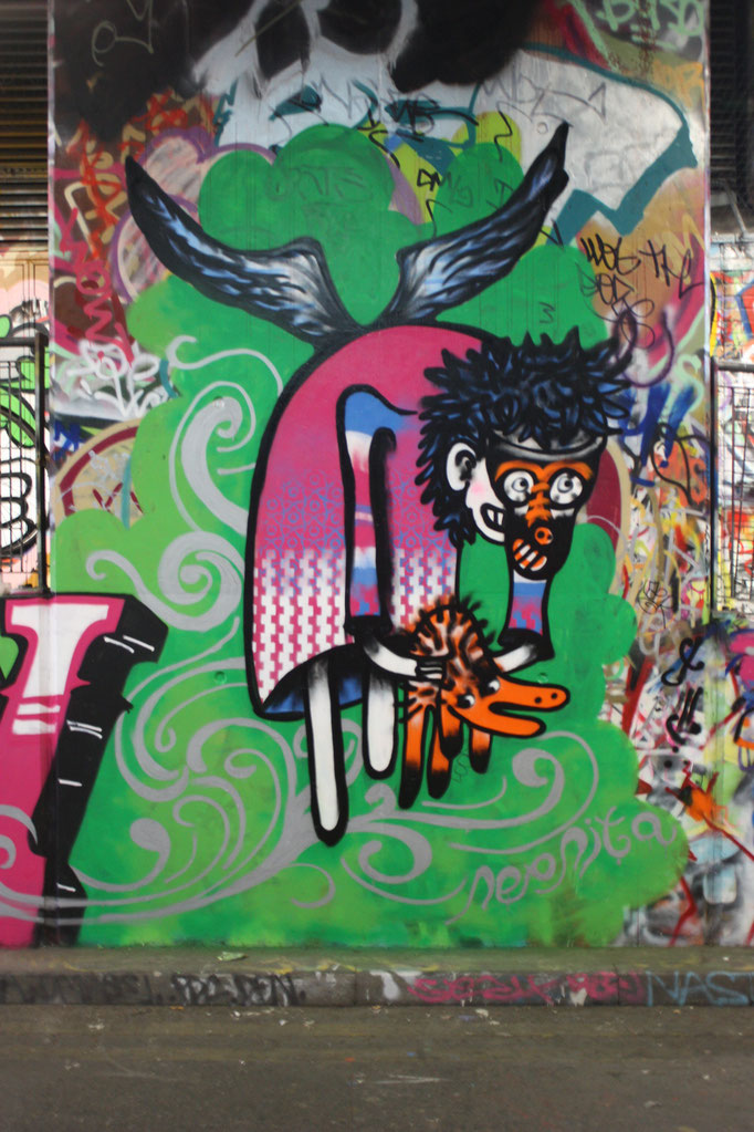 Flight, Leake Street, 2009