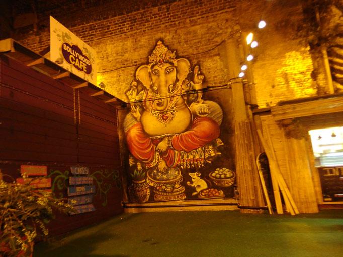 Ganesha, Bollywood Cafe, Brixton, London, 2016