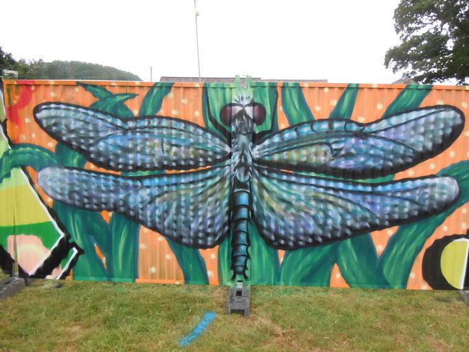 Dragonfly at Greenman Festival, Wales, 2011