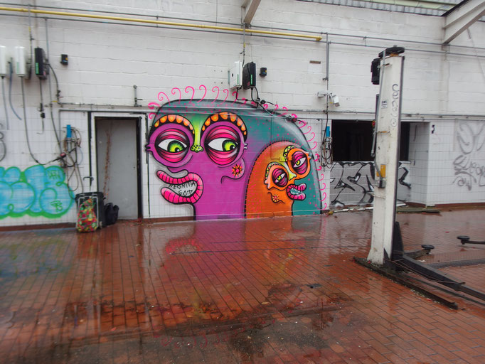 Rainy Day, Croydon, 2016