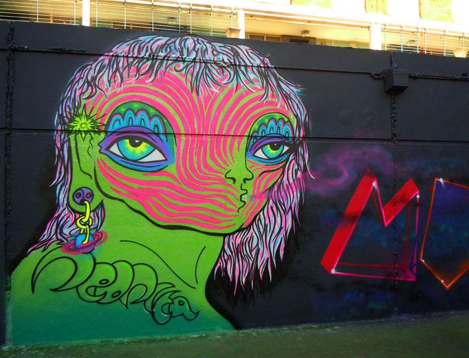 Spacey, GOT Jam, Stockwell, London, 2011