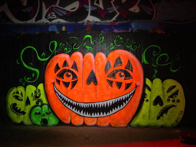 Halloween Pumpkin, South Bank, London, 2014