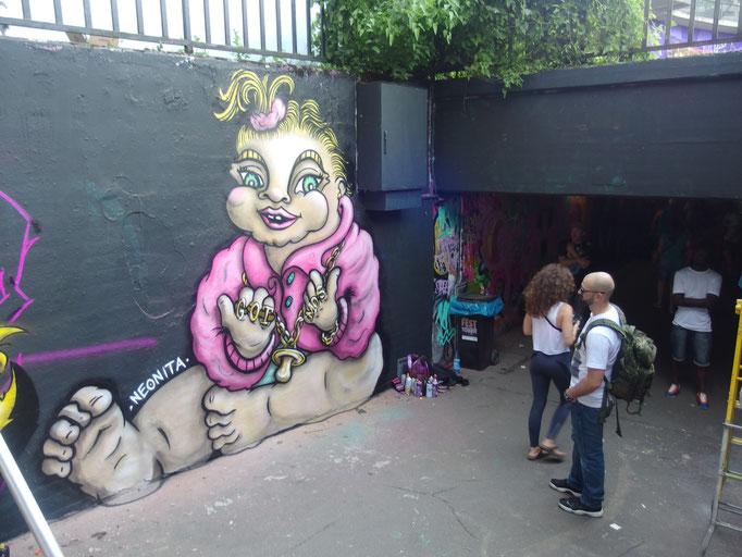 Chav Baby, Wiesbaden Graffiti Festival, Germany, 2018