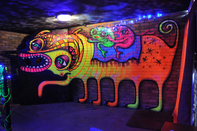 Neonia, Neonitas Post Apocalyptic Universe, Stockwell Park Estate, London, 2016