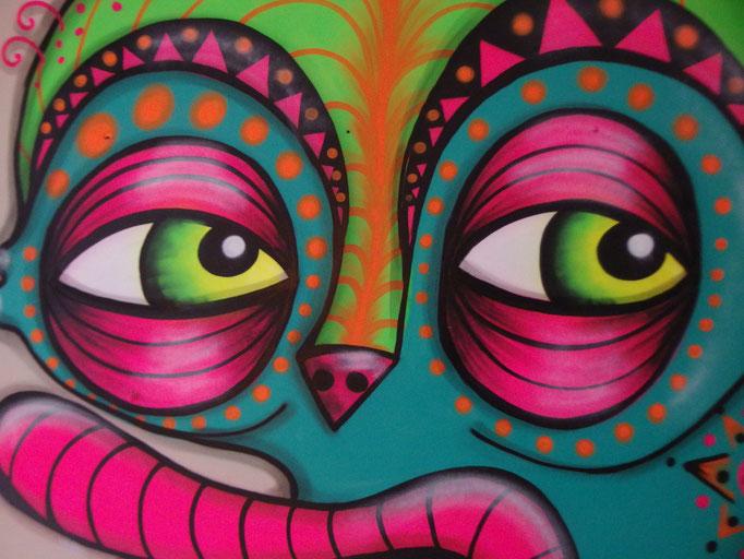 Surprise Creature, Soho, 2016