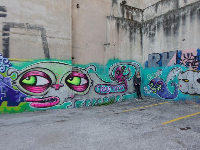 Athens Car Park Monsters, Greece, 2016