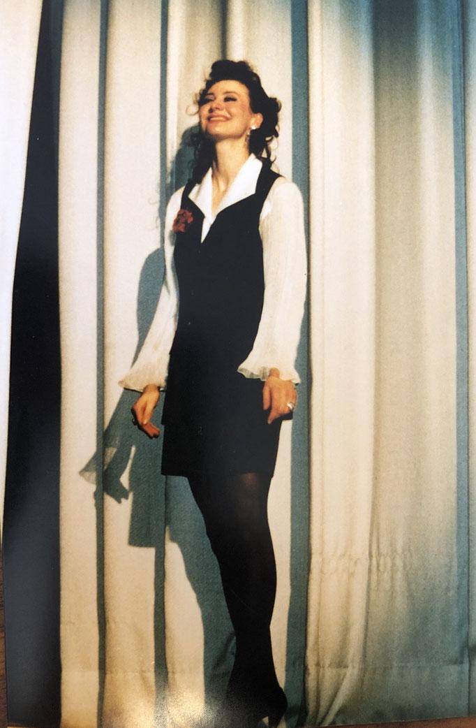 Hermine Haselböck as Fiorilla in Rossini's Il Turco in Italia (1993) - Musikhochschule Detmold