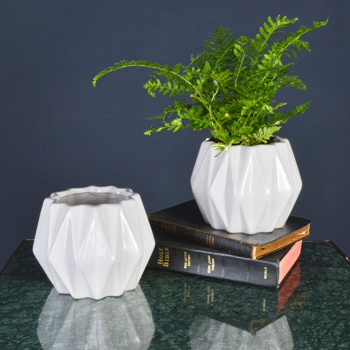 Geometric Plant Pot by MiaFleur