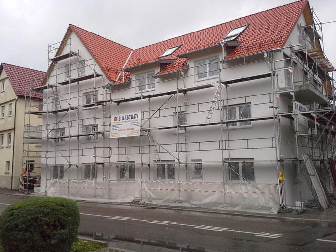 Verputz, Mehrfamilienhaus in Winnenden
