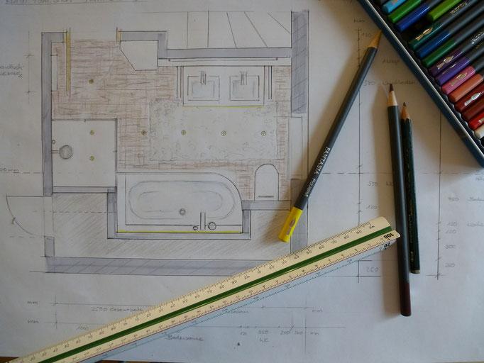 Grundrissplanung Einrichtungsberatung