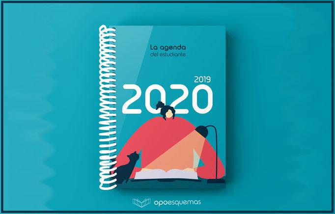 Agenda del estudiante 2019- 2020 OpoEsquemas
