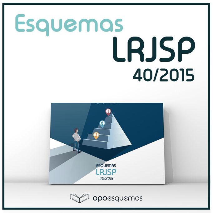 Esquemas LRJSP - Ley Régimen Jurídico Sector Público 40/2015. OpoEsquemas.