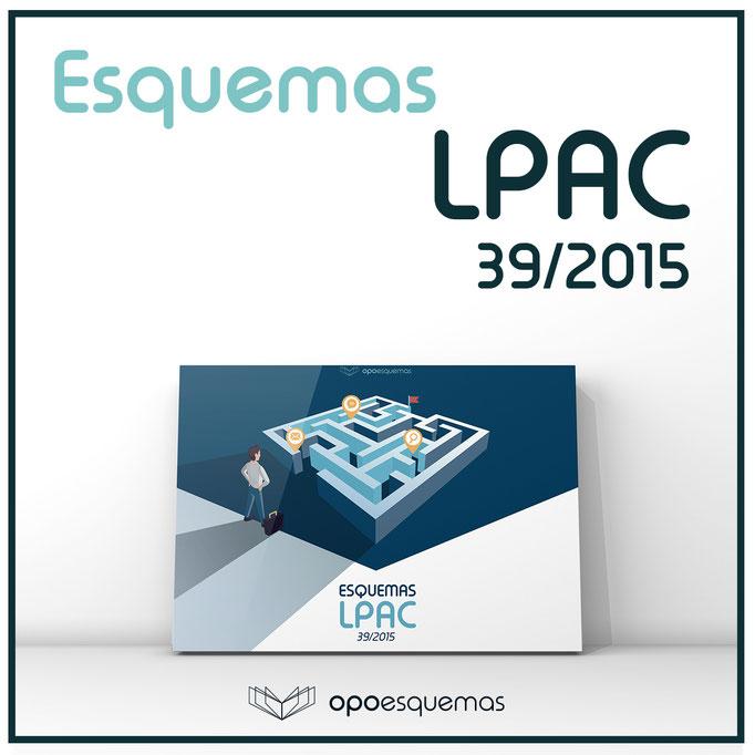 Esquemas LPAC - Ley Procedimiento Administrativo 39/2015. OpoEsquemas.