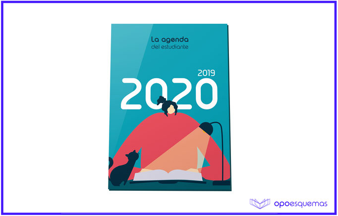 Esquemas Agenda del estudiante 2019-2020. OpoEsquemas.