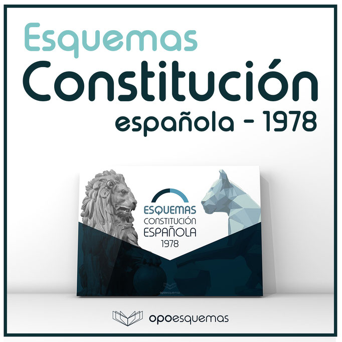 Esquemas Constitución espalola 1978. OpoEsquemas.