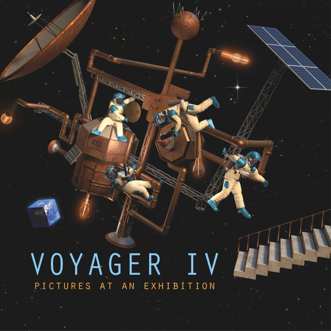 Voyager IV - pictures at an exhibition
