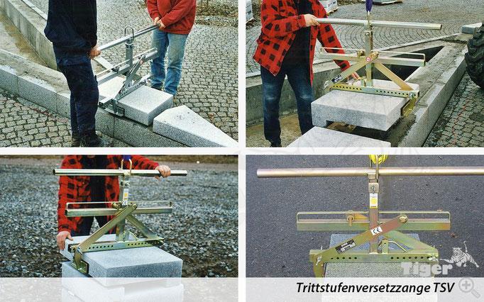 Trittstufenversetzzange TSV - Anwendungen