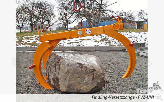 Findling Kran-Versetzzange - FVZ-UNI
