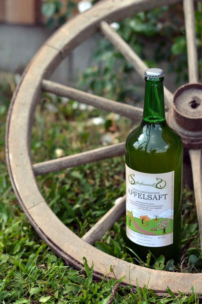 Apfelsaft aus Mariatrost Schafmandl Produkte