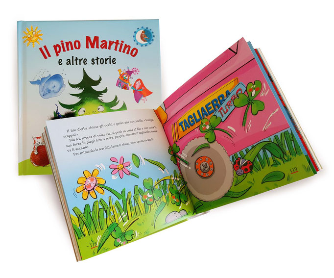 IL PINO MARTINO- (LA COCCINELLA E IL SUO FILO D'ERBA)  - ED.PAOLINE