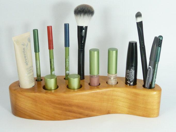 kosmetikständer aus Kirschholz