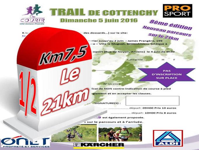 Trail de Cottenchy 2016 - le 21km au km7,5 [1/2] (dép80 - 9/21km - Dim05/06/2016)