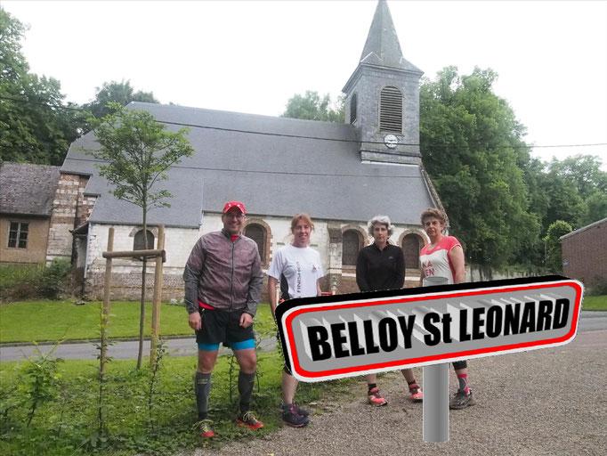 Sortie à Belloy St Léonard avec JPh (dép80 - 15km - Sam18/06/2016)