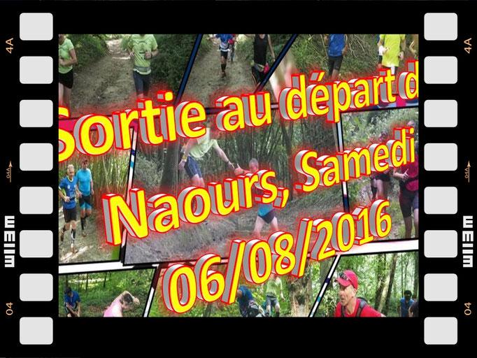 Sortie à Naours avec Martin (dép80 - 14km - Sam06/08/2016)