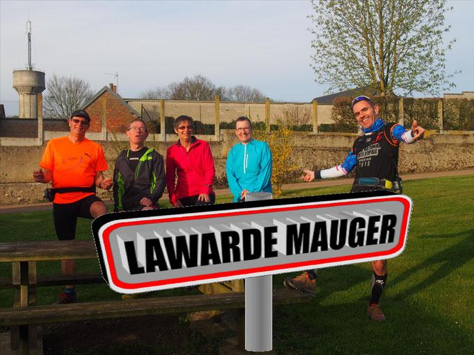 Sortie à Lawarde Mauger avec Martin (dép80 - 11/17km - Sam01/04/2017)