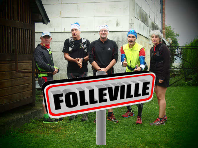 Sortie au départ de Folleville avec Martin (dép80 - 21km - Sam16/09/2017)