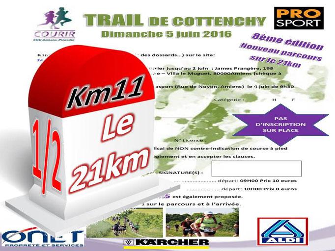 Trail de Cottenchy 2016 - le 21km au km11 [1/2] (dép80 - 9/21km - Dim05/06/2016)