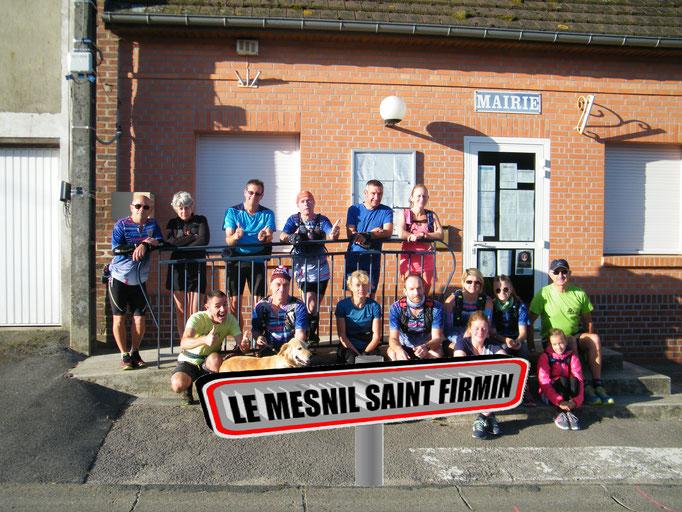 Sortie à Le Mesnil St Firmin avec Manu (dép60 - 16km - Sam15/09/2018)