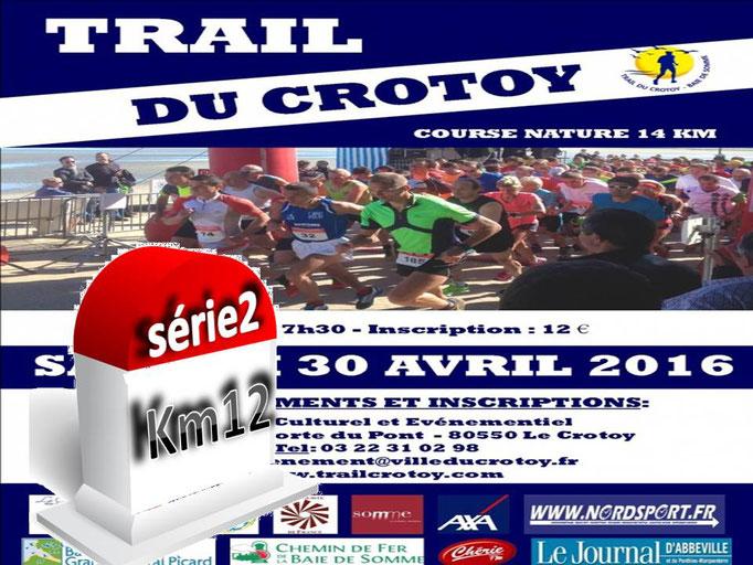 Trail du Crotoy - Km12, série2 (dép80 - 14km - Sam30/04/2016)