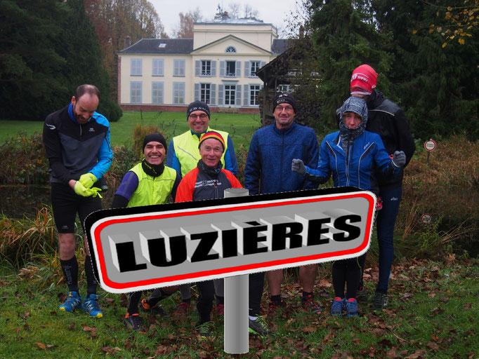 Sortie à Luzières avec Martin (dép80 - 18km - Sam18/11/2017)