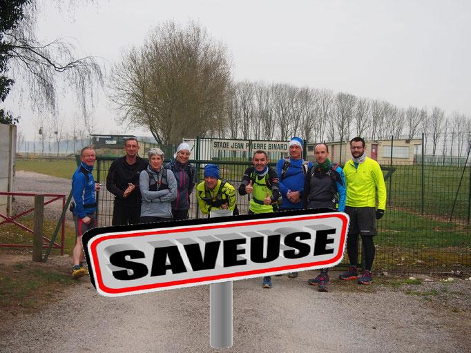 Sortie à Saveuse avec JPh (dép80 - 18km - Dim25/03/2018)