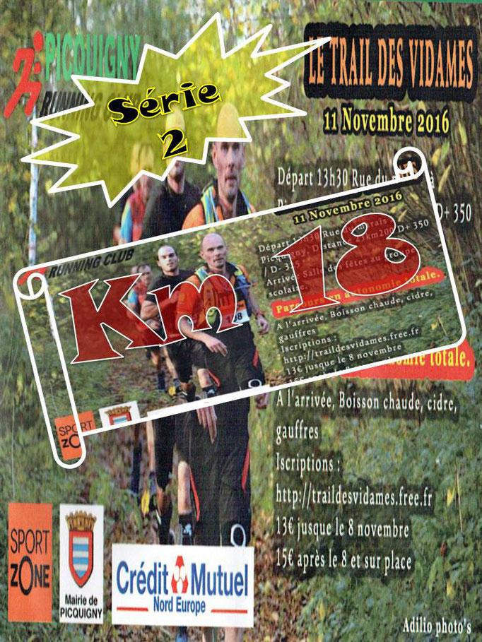 Trail des Vidames 2016 - Km18-2 (Picquigny - dép80 - 23km - Ven11/11/2016)