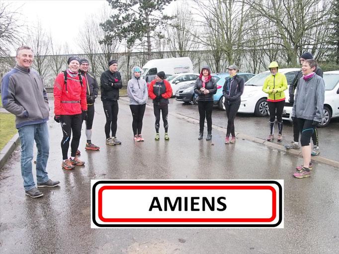 Sortie au départ d'Amiens avec Martin (dép80 - 13/20km - Sam30/01/2016)