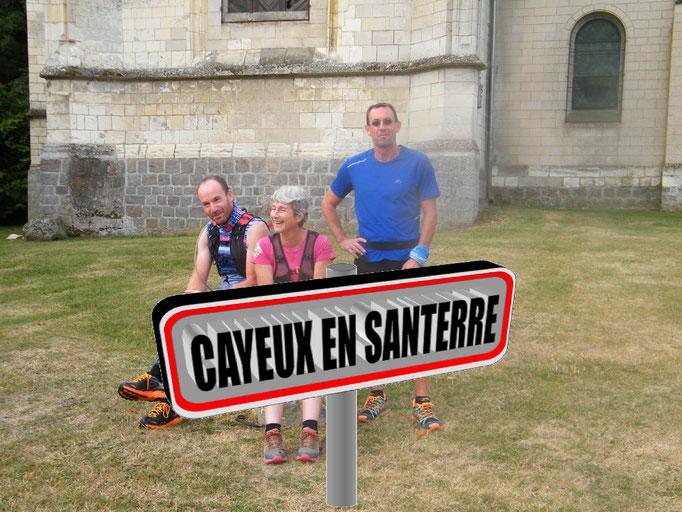 Sortie à Cayeux en Santerre avec JPh (dép80 - 17km - Dim05/08/2018)
