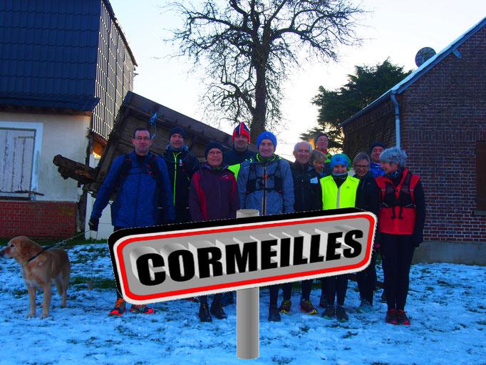 Sortie à Cormeilles avec JPh (dép60 - 17/21km - Sam10/02/2018)