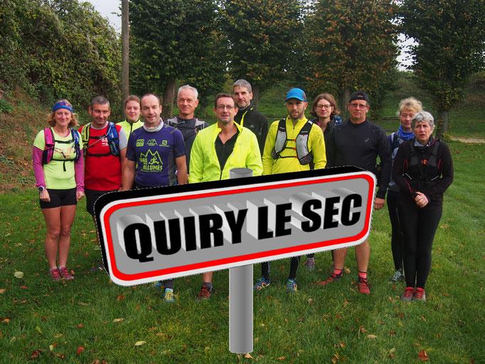 Sortie à Quiry le Sec avec Manu (dép80 - 8/16km - Sam04/11/2017)