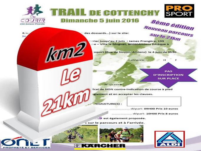 Trail de Cottenchy 2016 - le 21km au km2 (dép80 - 9/21km - Dim05/06/2016)