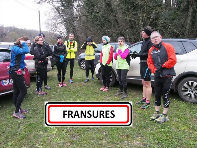 Sortie à Fransures avec JPh (dép80 - 17/20km - Sam06/02/2016)