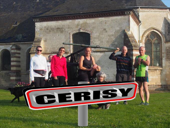 Sortie à Cerisy avec JPh (dép80 - 11/13/15/17km - Sam08/04/2017)